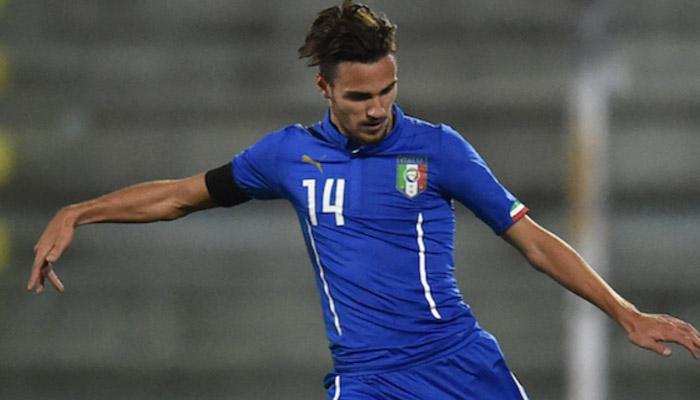 Valerio Verre, Italia U21 - Fonte account Twitter ufficiale Italia