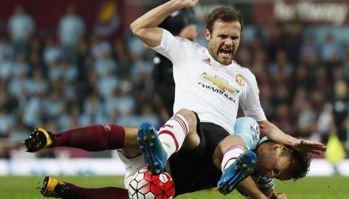 Juan Mata, West Ham-Manchster United
