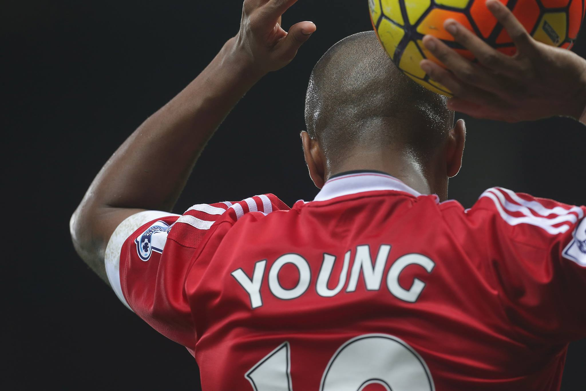 Ashley Young - FOTO: account ufficiale Facebook Ashley Young