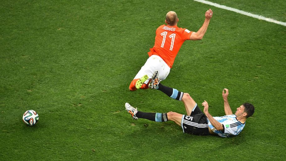 Robben in volo... - FOTO: Getty Images
