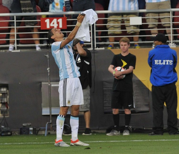 Fonte: Twitter oficial de la Selección Argentina.