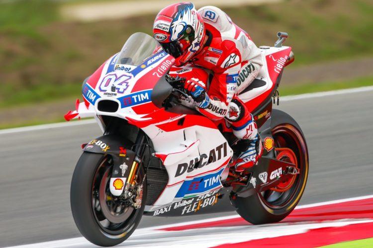 Andrea Dovizioso conquista la pole position del Gp d'Olanda, classe MotoGP - Fonte: Twitter @MotoGP