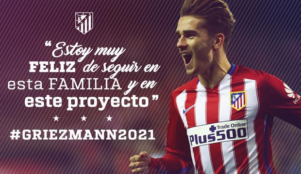 fonte: sito ufficiale Atletico Madrid