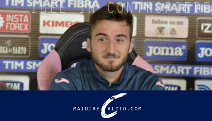 Bryan Cristante nuovo calciatore del Pescara