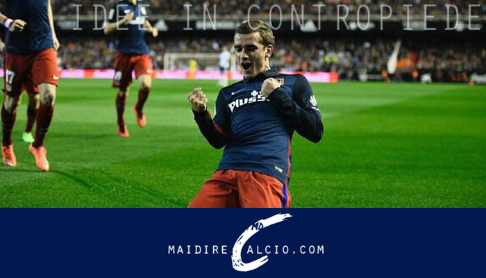 Antoine Griezmann, presente nella Top8 di Fox Sports