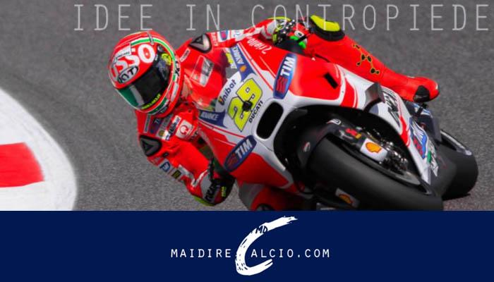 Andrea Iannone con la Ducati - Moto GP Assen