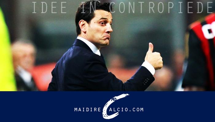 Vincenzo Montella pronto a telecomandare il calciomercato del Milan