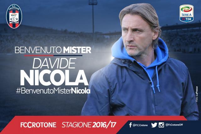 Davide Nicola Crotone