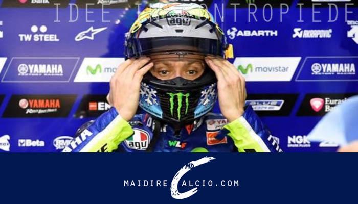 Valentino Rossi dopo la gara di Moto GP di Assen