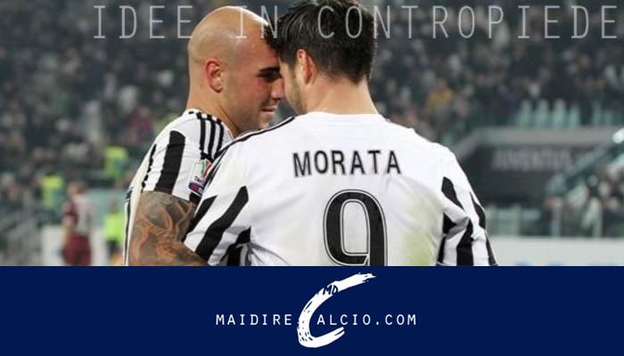 Alvaro Morata e Simone Zaza - Juventus, Serie A