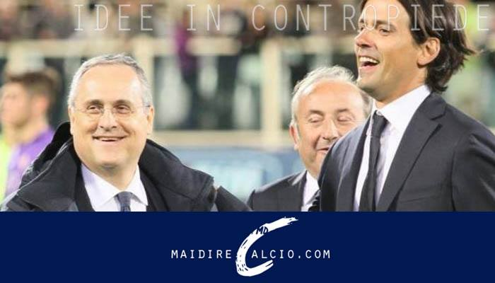Lazio, Lotito e Inzaghi