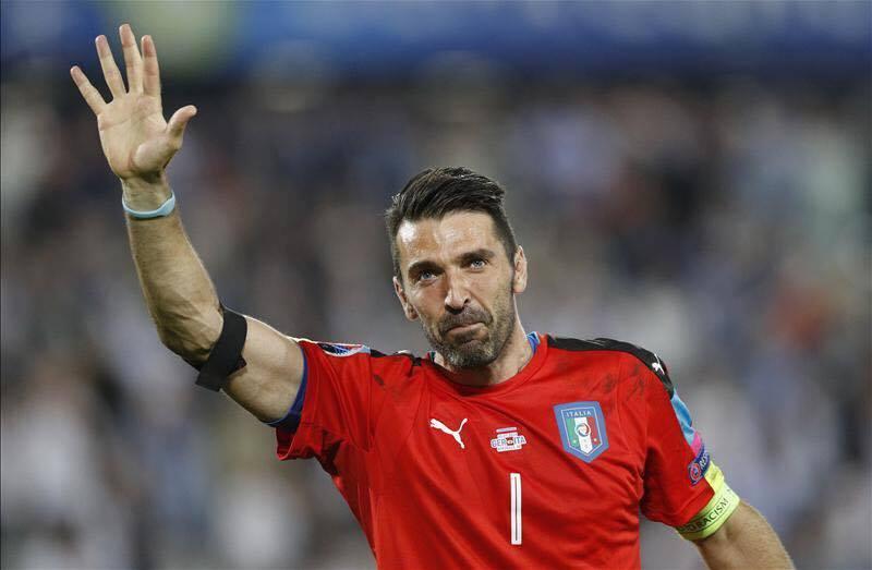 Gianluigi Buffon FOTO: @UEFAEURO