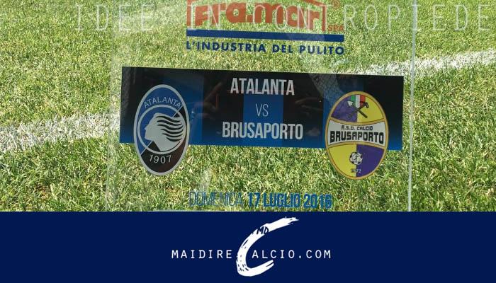 Atalanta-Brusaporto, amichevole estiva