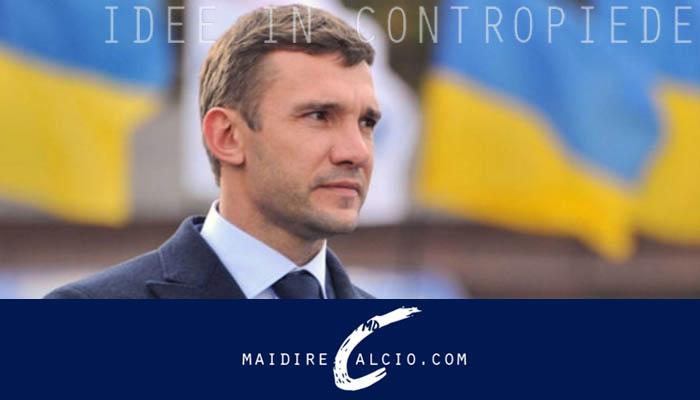 Andrij shevchenko, Commissario Tecnico dell'Ucraina