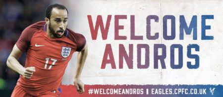 Andros Townsend / Fonte: Twitter ufficiale Crystal Palace