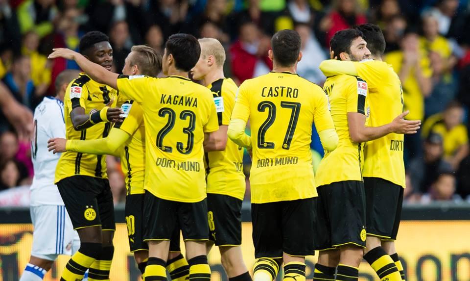 Il Borussia Dortmund frena la corsa: stop a Francoforte