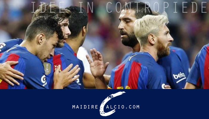 International Champions Cup, Barcellona-Leicester 4-2