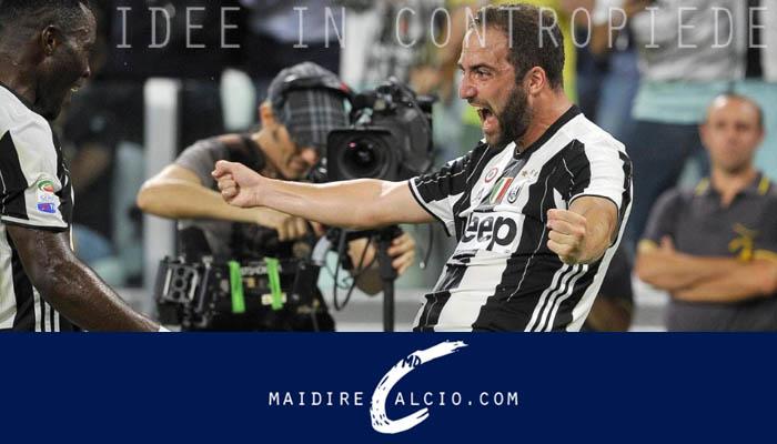 Gonzalo Higuain, Juventus-Fiorentina - Serie A 2016/17