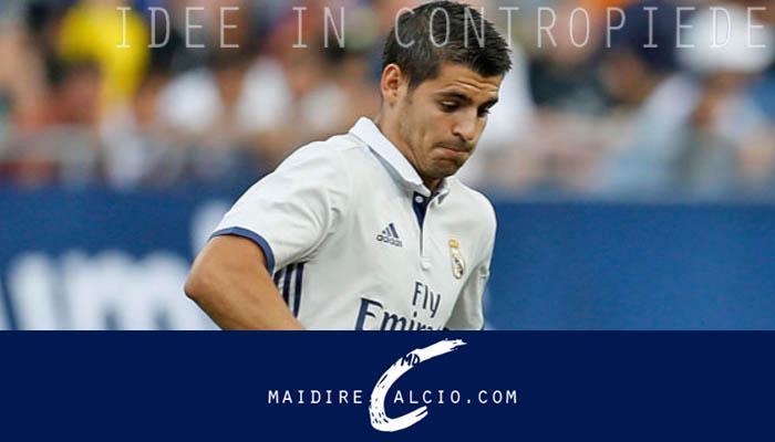 Alvaro Morata ci sarà per la Supercoppa Europea Real Madrid-Siviglia