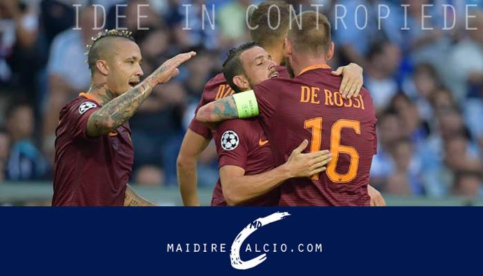 Le probabili formazioni di Roma-Porto - Preliminari di Champions League 2016/17