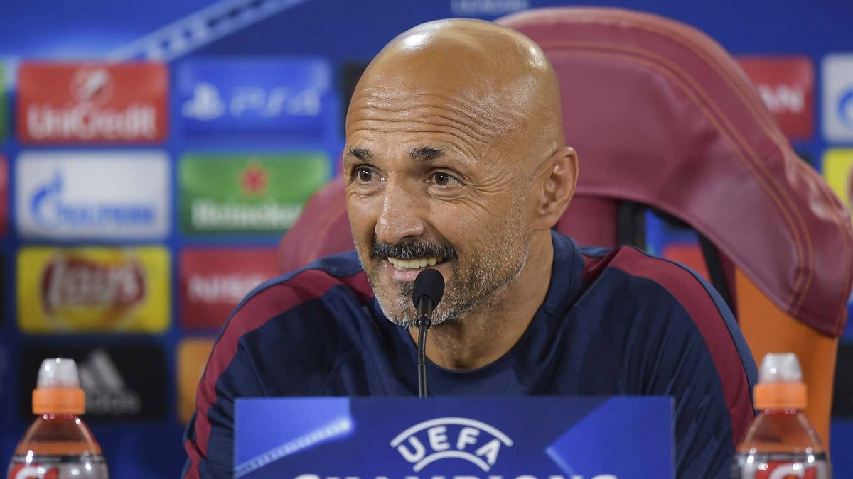 luciano spalletti champions league roma