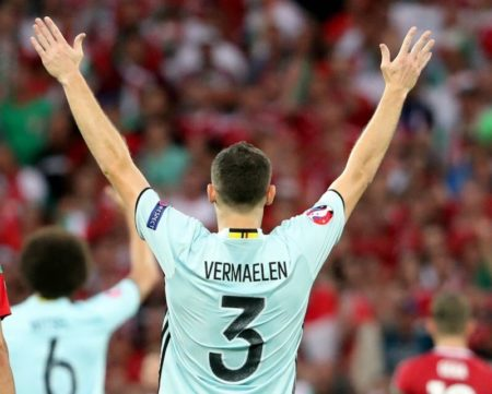 Vermaelen è tra i punti fermi della nazionale belga. Fonte - Account Twitter @thomasvermaelen