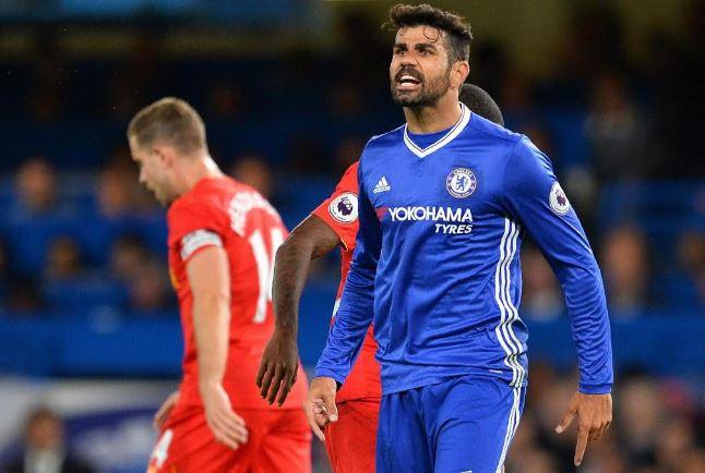 Lo sguardo spiritato di Diego Costa dopo il gol FOTO@PremierLeague