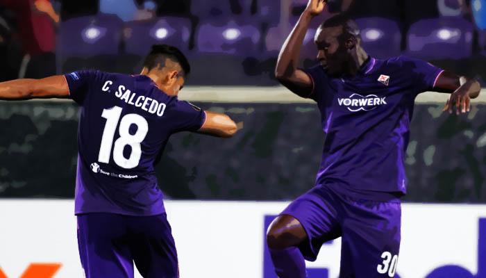 Fiorentina-Qarabag, Khouma Babacar - Europa League 2016/17