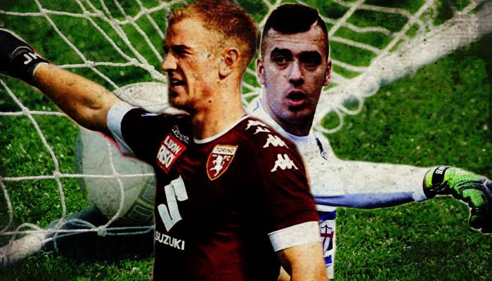 Joe Hart, Emiliano Viviano - Serie A 2016/17