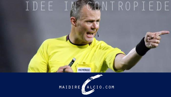 Björn Kuipers, arbitro di Italia-Francia