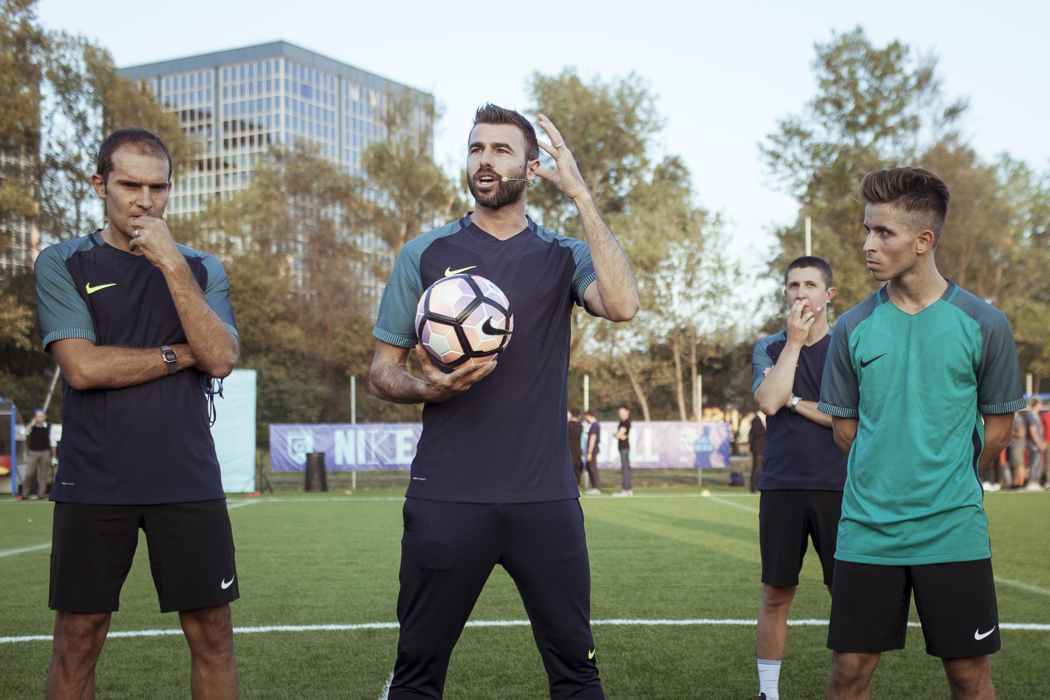 Andrea Barzagli Nike Academy