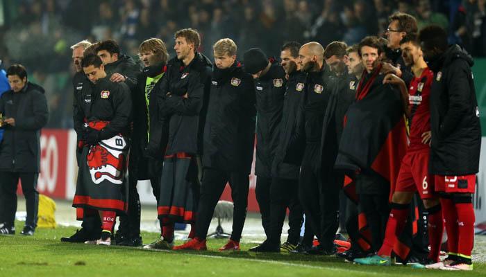 Sportfreunde Lotte-Bayer Leverkusen, DFB Pokal - fonte: BL Twitter