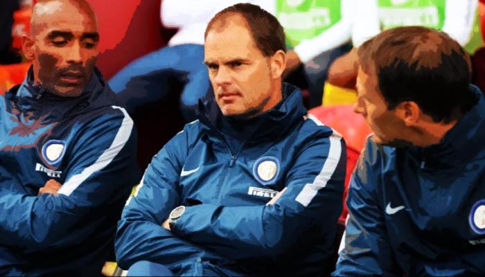 Frank De Boer, Inter - Serie A