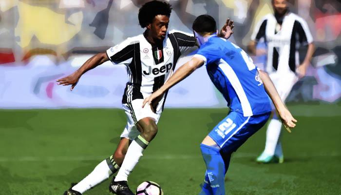 Empoli-Juventus, Juan Guillermo Cuadrado - Serie A 2016/17