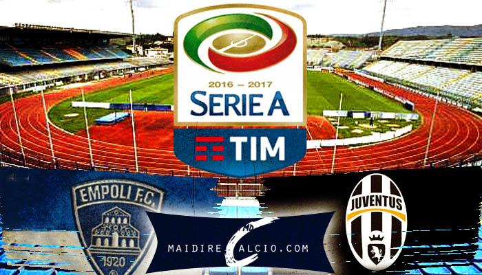 Empoli-Juventus - Serie A 2016/17