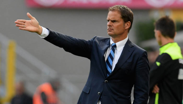 Frank De Boer, Inter - Serie A 2016/17 fonte: FC Internazionale
