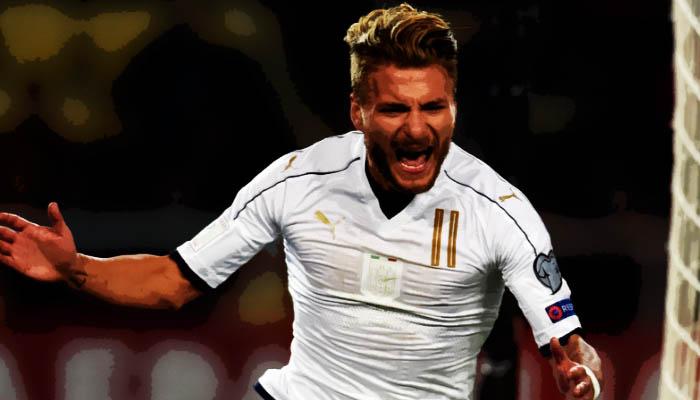 Ciro Immobile, Italia - Qualificazioni Mondiali 2018