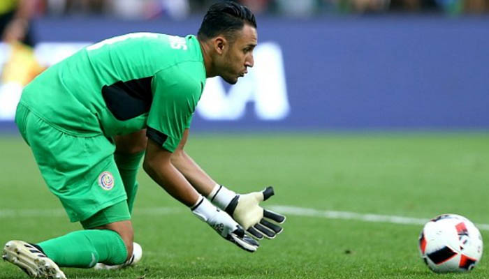 Keylor Navas, Real Madrid - Fonte: Twitter Real Madrid