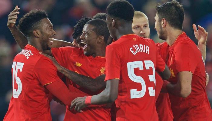 Liverpool-Tottenham - EFL Cup fonte: Liverpool Twitter