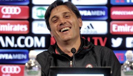 Vincenzo Montella, conferenza stampa Genoa-Milan