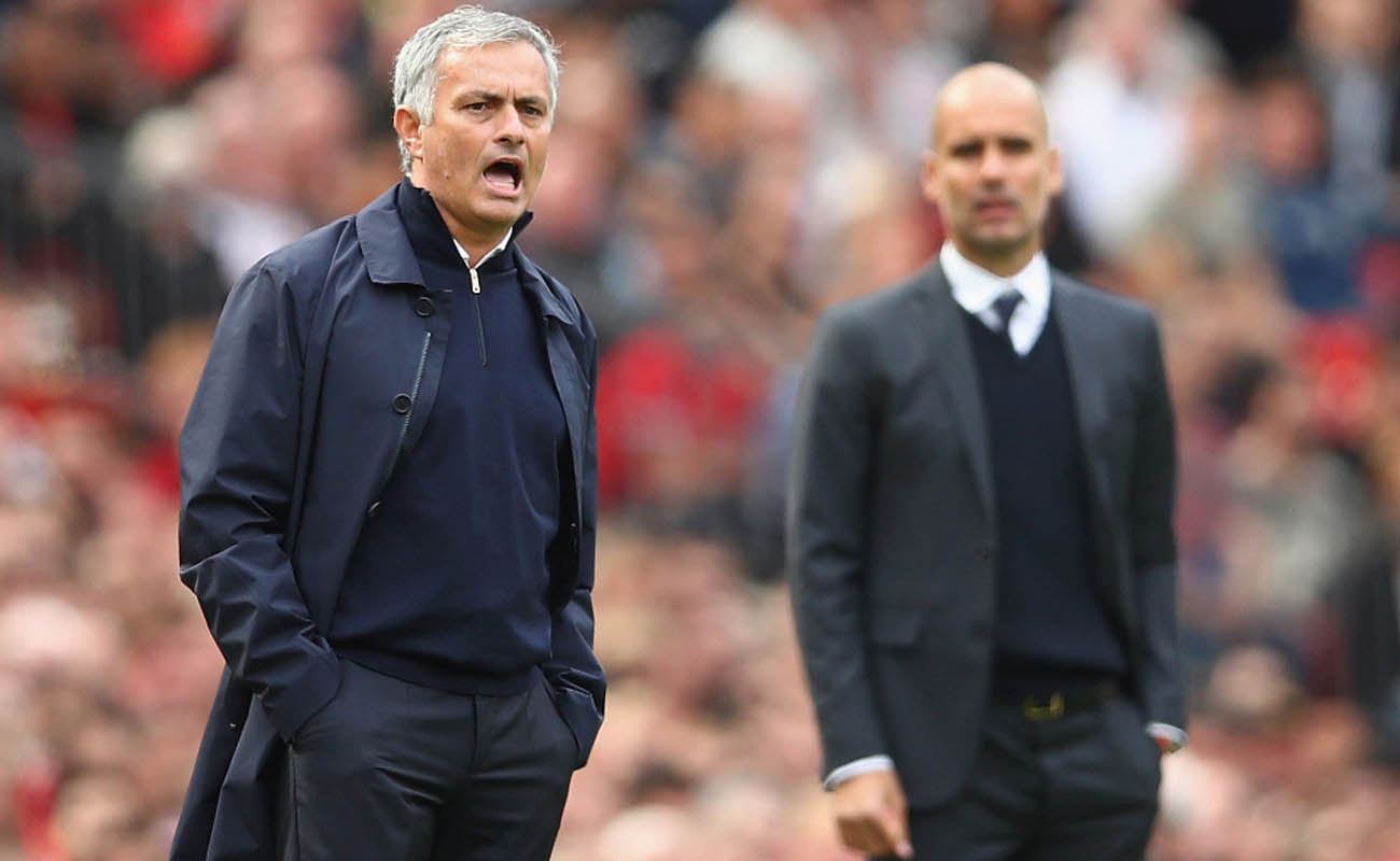 Mourinho e Guardiola, United-City