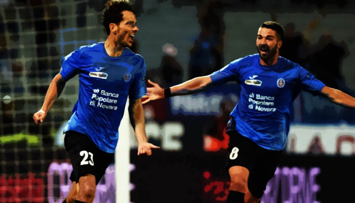 Novara-Ascoli - Serie B 2016/17