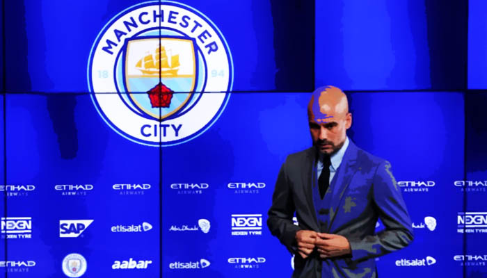 Pep Guardiola, Manchester City - Premier League 2016/17