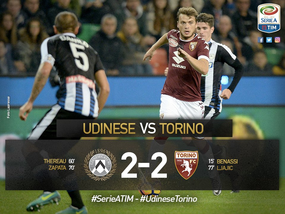 udinese torino serie a