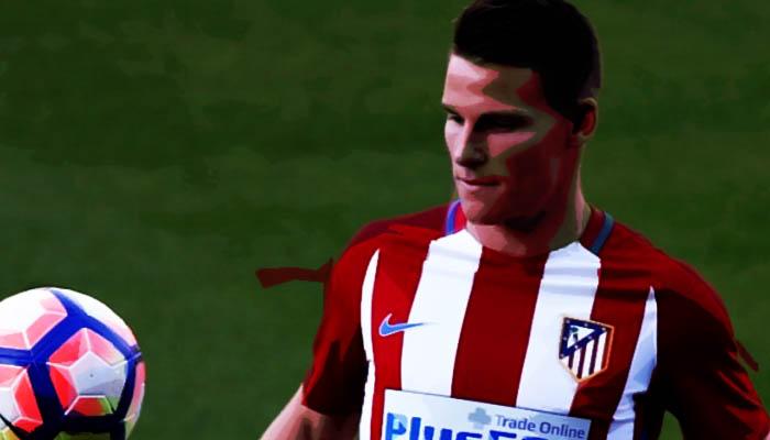 Valencia-Atletico Madrid, Kevin Gameiro - La Liga 2016/17