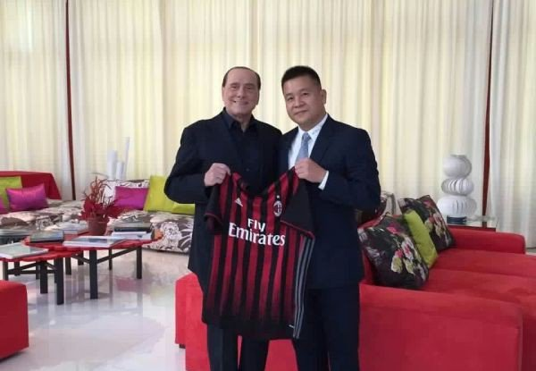 Silvio Berlusconi - Fonte: Twitter @acmilan