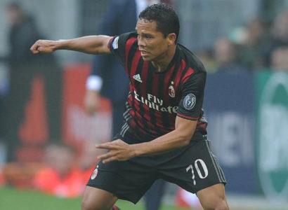 Carlos Bacca, Milan - Fonte: Milan Twitter Account