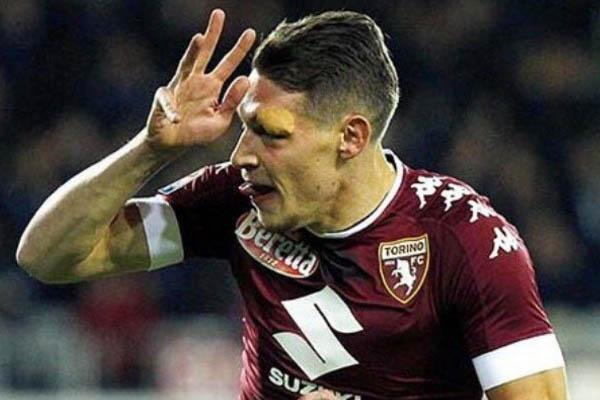 Andrea Belotti, Torino-Juventus Fonte: Belotti account Twitter