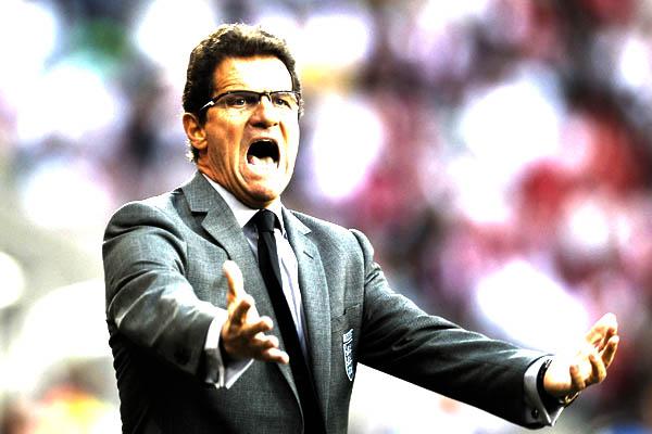 Fabio Capello, quando era CT dell'Inghilterra