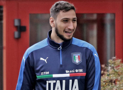 Gianluigi Donnarumma, Italia - Fonte: AC Milan Twitter account.